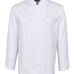 JB's L/S Vented Chef's Jacket White Thumbnail
