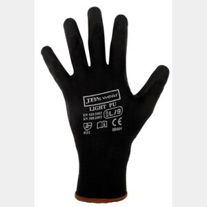 BLACK LIGHT PU BREATHABLE GLOVE (12 PACK) Thumbnail